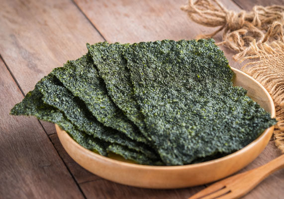 Making a splash on menus in fine dining restaurants are such under-the-sea mainstays as kelp and dulse. Meanwhile, seaweed snacks have become a fixture on supermarket shelves. (1 of 10)