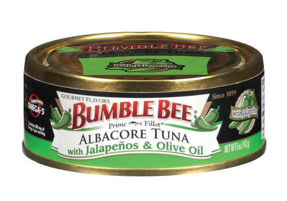 """Bumble Bee Foods recently added three varieties to its Prime Fillet Gourmet Flavors line of canned albacore tuna: chipotle and olive oil, sundried tomatoes and olive oil and jalapenos and olive oil. """"Premium tuna in olive oil has been popular among the food elite for years,"""" said Christopher Lischewski, chief executive officer. """"The new seasoned varieties offered by our Gourmet Flavors bring inspiration from around the globe to help create delicious recipes for any meal occasion. All three Gourmet Flavors products combine exotic flavors with a kick of taste that can't be found anywhere else on the market."""" Click here for more information."""