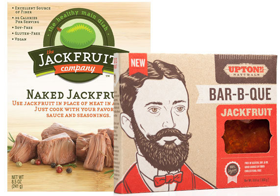 """High in fiber and low in calories, the large Southeast Asian tree fruit known as jackfruit has a texture likened to that of pulled pork. Several vegan brands, including Upton's Naturals, the Jackfruit Co., and Yves Veggie Cuisine, offer packaged jackfruit dressed in savory sauces to replace meat in tacos or sandwiches. """"It's certainly interesting to see innovators in the food space borrowing from other cultures in other parts of the world and tapping into an ingredient that has long been used as a meat substitute or meal filler,"""" said Kara Nielsen, culinary trendologist at Sterling-Rice Group. """"We know jackfruit has been used in India and Southeast Asia where it grows, where it has been used as a meat substitute or a center ingredient in a main dish. """"Jackfruit does not have same amount of protein as other meat substitutes or meat analogs, so seeing this not-very-protein-rich ingredient take the place of savory meat fillings is interesting… and takes the conversation for vegetarian and vegan meals in a new direction."""" (1 of 9)"""
