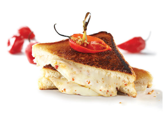 New Glenview Farms Smoky Ghost Pepper Jack Cheese Slices are the first-of-its-kind for the food service channel. This 100% Wisconsin Jack cheese contains genuine ghost peppers--the hottest naturally occurring, non-hybrid peppers known to man. The company is also turning up the heat with variations of classic bar fare. Under its Patuxent Farms brand, operators can procure Premium Buffalo-Style Chicken Tenderloin Fritters, Chicken Breast Chunks and Filets. The breading was designed to deliver the bold notes of hot sauce and vinegar.