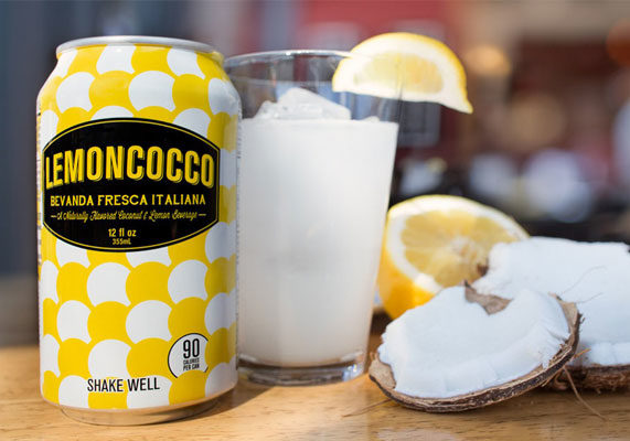 """New from Seattle-based Jones Soda Co. is Lemoncocco, a premium non-carbonated blended beverage brand. Inspired by a popular refresher found in Rome, the beverage is flavored with extracts of Sicilian lemons and coconut cream with a hint of cane sugar. Each 12-oz can contains 90 calories. """"Our version of Lemoncocco is less sweet than that found in Rome and to me is more on trend with evolving tastes of the North American palate,"""" said Jennifer Cue, chief executive officer of Jones Soda Co. """"While this refreshing blend is a natural choice for patrons of Italian restaurants and specialty shops, it is a perfect pairing for any type of lunch or dinner. And since Lemoncocco makes an excellent mixer for cocktails, it is great for happy hour as well."""" (1 of 10)"""