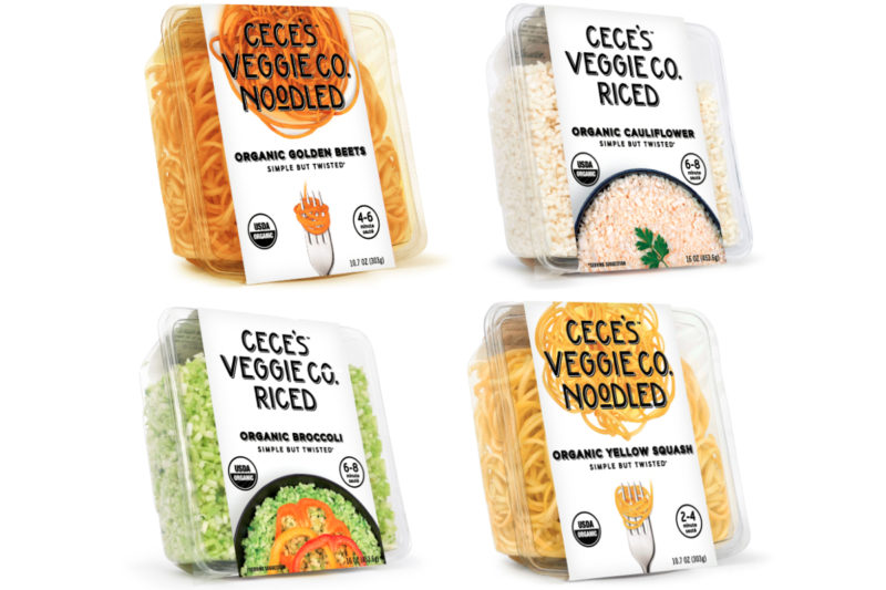 "Cece's Veggie Co., a start-up out of Austin, Texas, is shaking up the produce section with ""simple but twisted"" easy-to-use organic vegetables. The most recent additions are spiralized beets and butternut squash, which join sweet potato and zucchini, and riced broccoli and cauliflower. The company also offers Veggiccini (fettuccini-style noodles butternut squash and zucchini."
