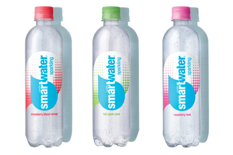 In March, the Coca-Cola Co. expanded its Smartwater brand lineup with its first flavored varieties in the United States. The company tested more than 20 flavors with consumers and whittled the number down to the final three: Smartwarter Sparkling strawberry blood orange, fuji apple pear and raspberry rose.