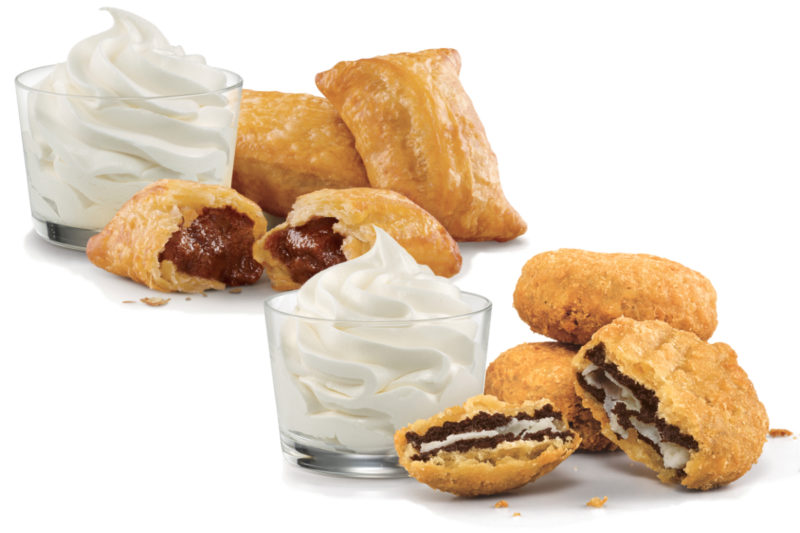 In January 2019, Sonic debuted two bite-size, deep-fried desserts.