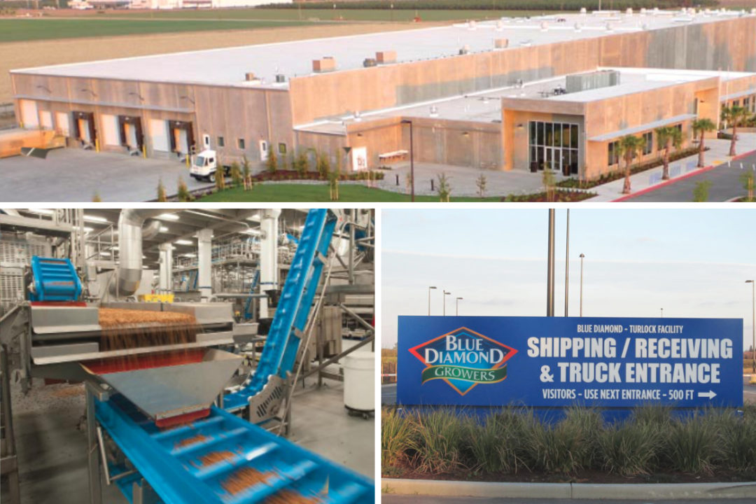 Blue Diamond Growers Turlock facility