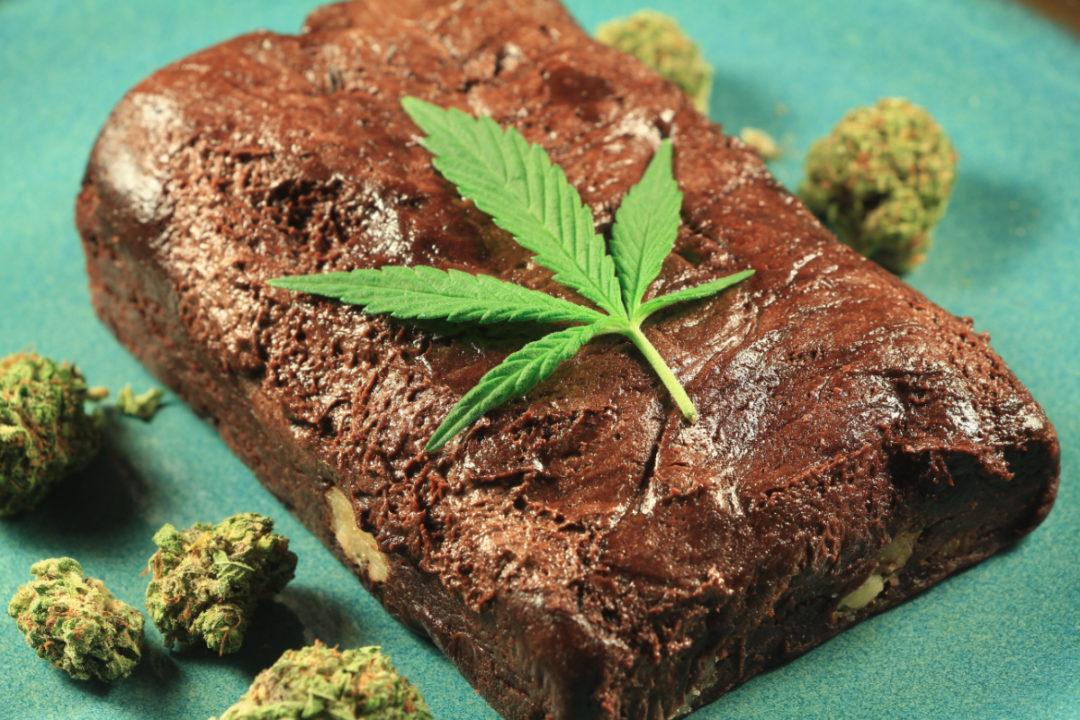 Cannabis brownie