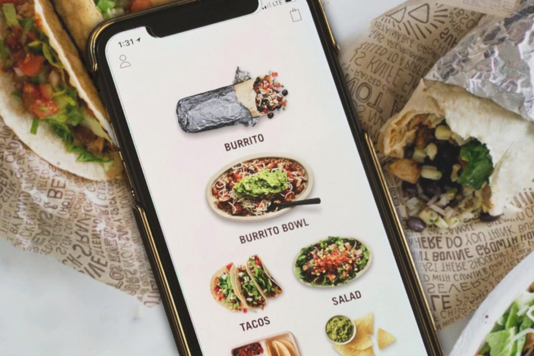 Chipotle mobile app