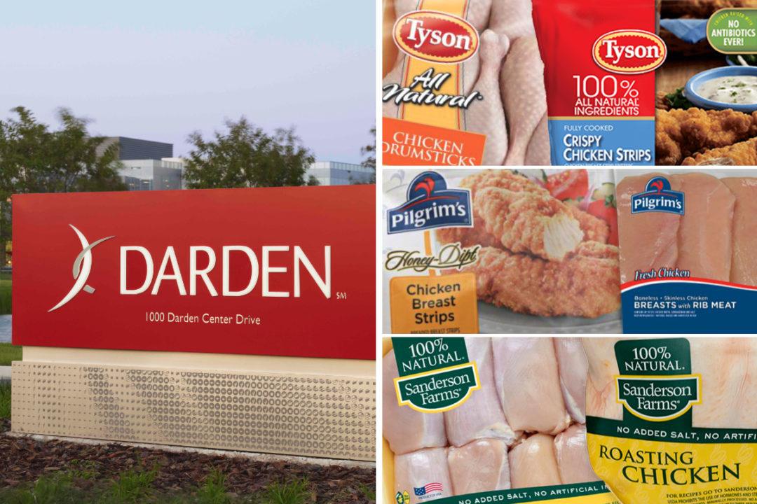 Darden vs Tyson, Pilgrims Pride, Sanderson Farms
