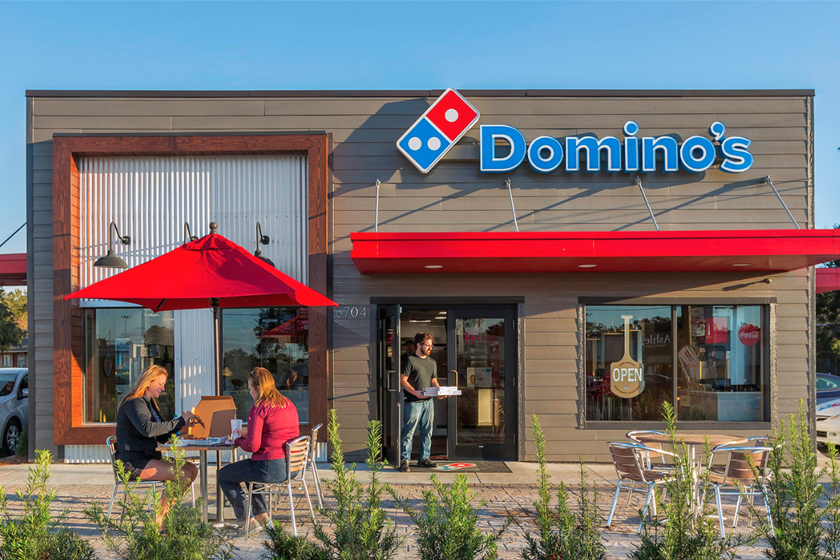 Dominos Pizza restaurant
