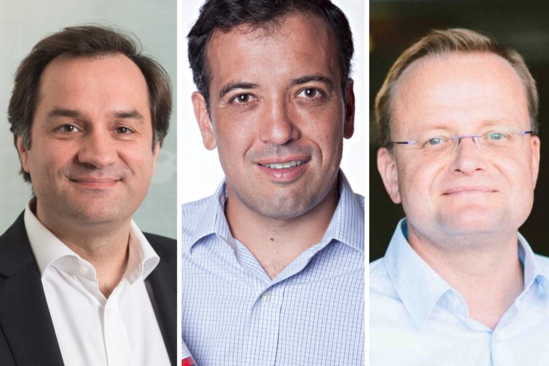 Fabien Simon, Ricardo Rittes and Jacek Szarzynski, JAB Holding
