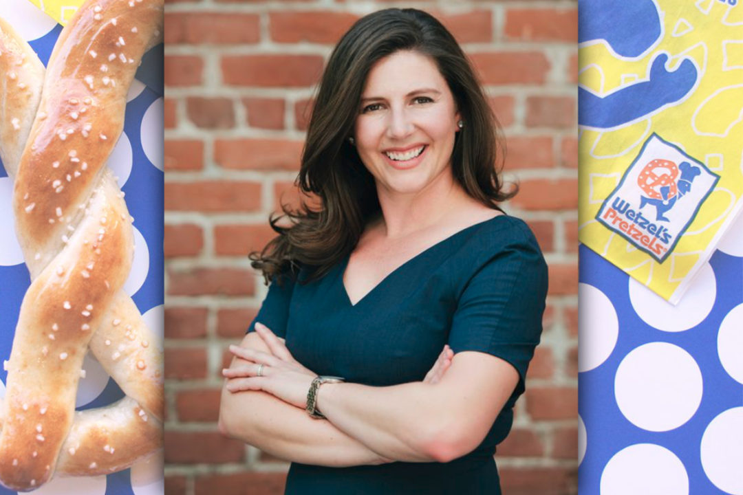 Jennifer Schuler, chief executive officer of Wetzel's Pretzels