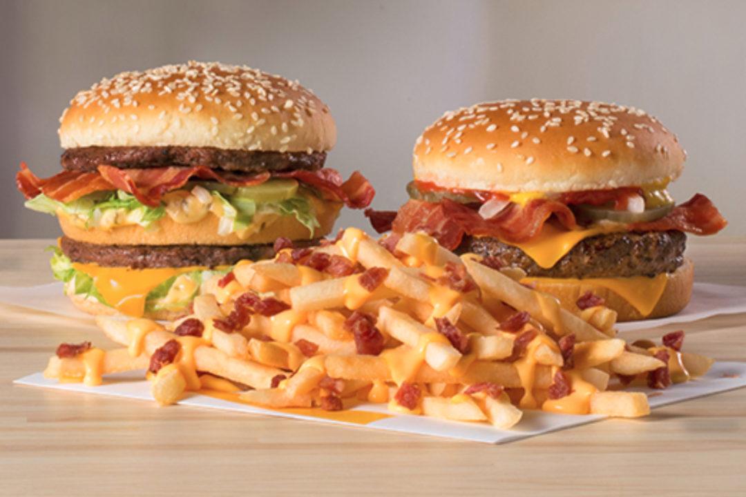 McDonald's bacon menu items