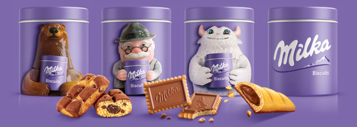 Milka Loop recyclable packaging, TerraCycle