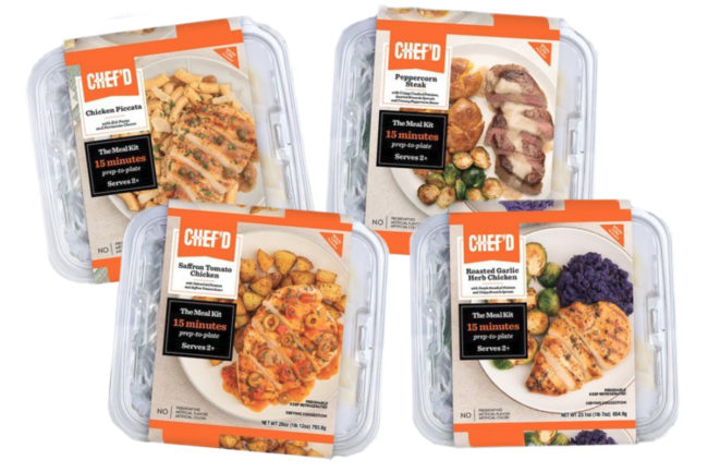 New Chef'd meal kits, True Food Innovations