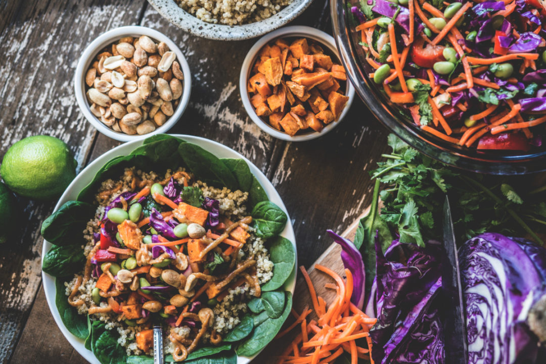 Plant-based dishes