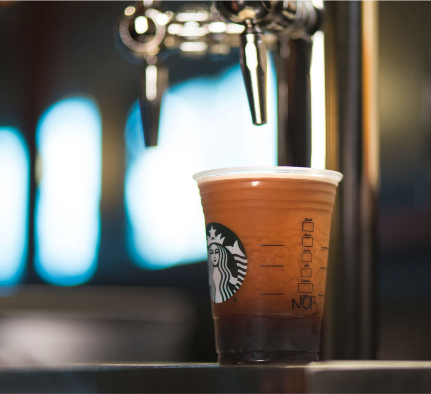 Starbucks nitrogen-infused coffee