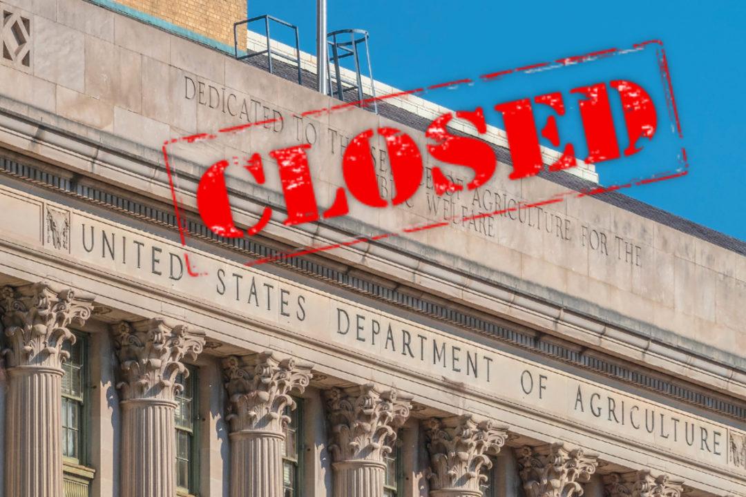 USDA closed
