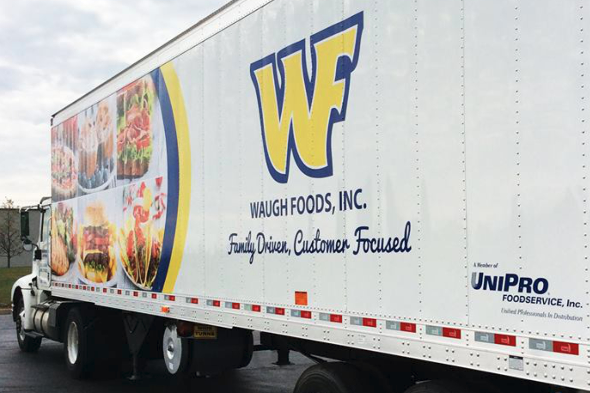 Waugh Foods truck