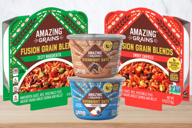 Amazing Grains products, Kraft Heinz