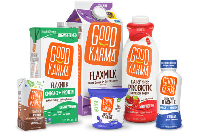 Good Karma Foods plant-based dairy alternatives