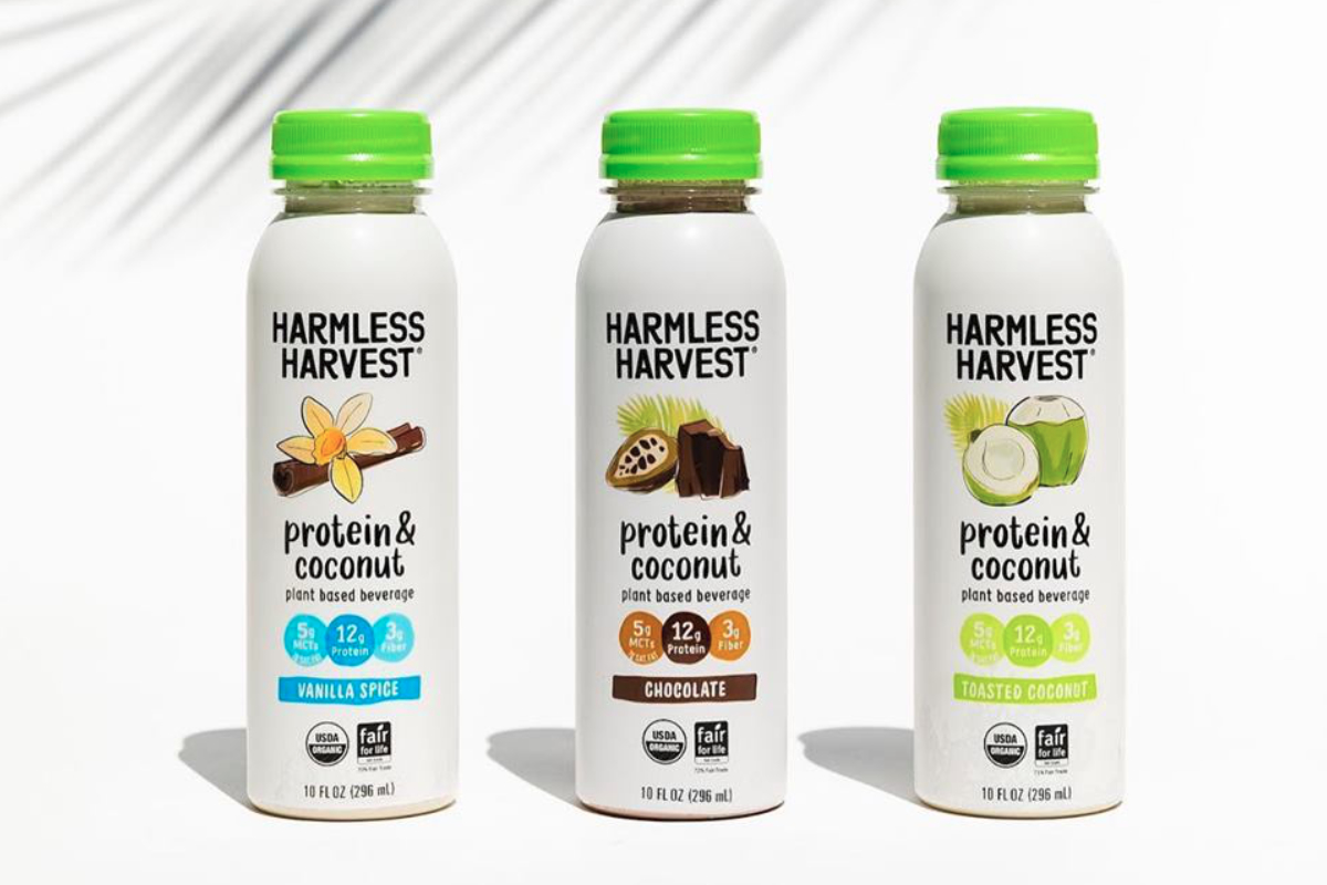 Harmless Harvest Protein & Coconut beverages