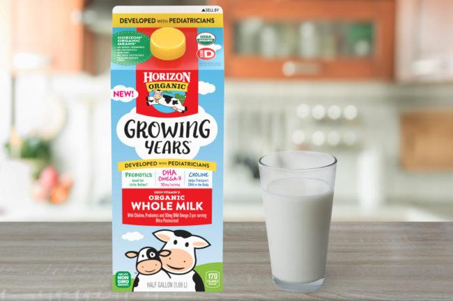 Horizon Organic Growing Years whole milk