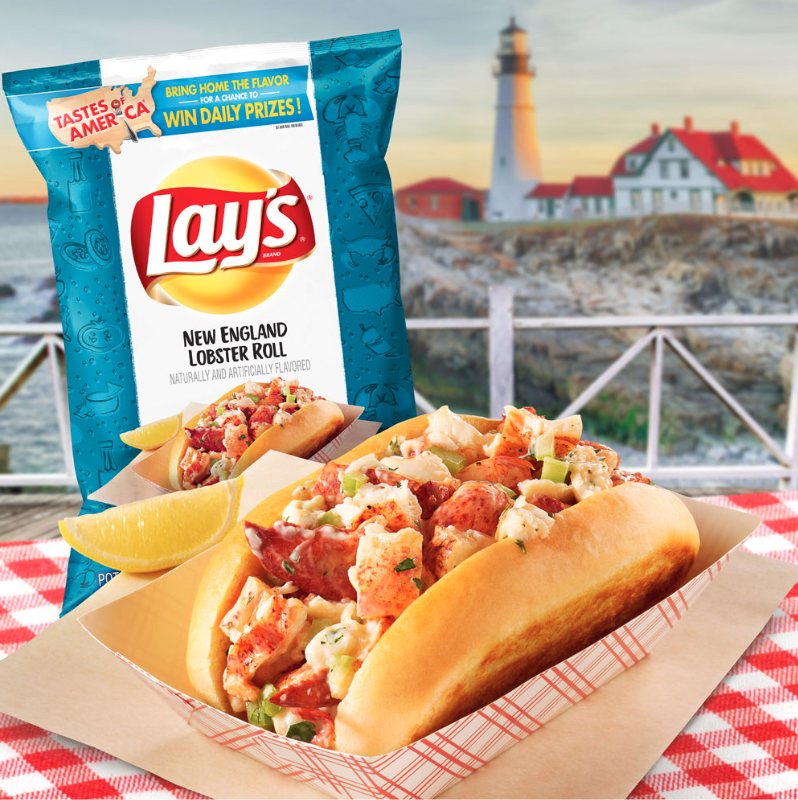 Lay's New England lobster roll potato chips