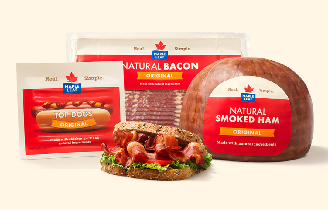 Maple Leaf Foods pork products