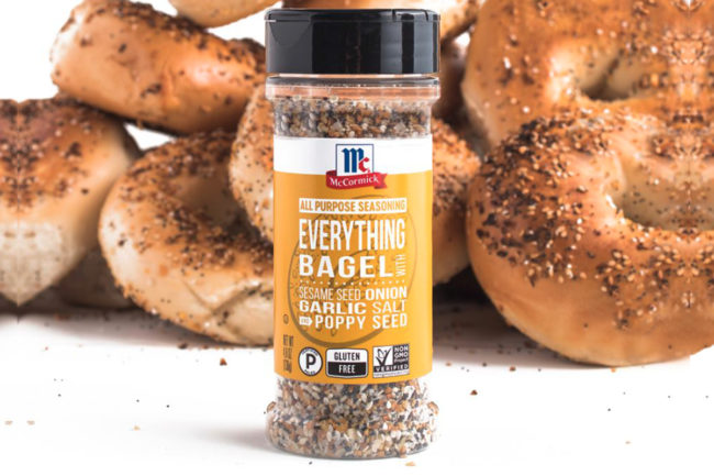 McCormick Everything Bagel seasonings