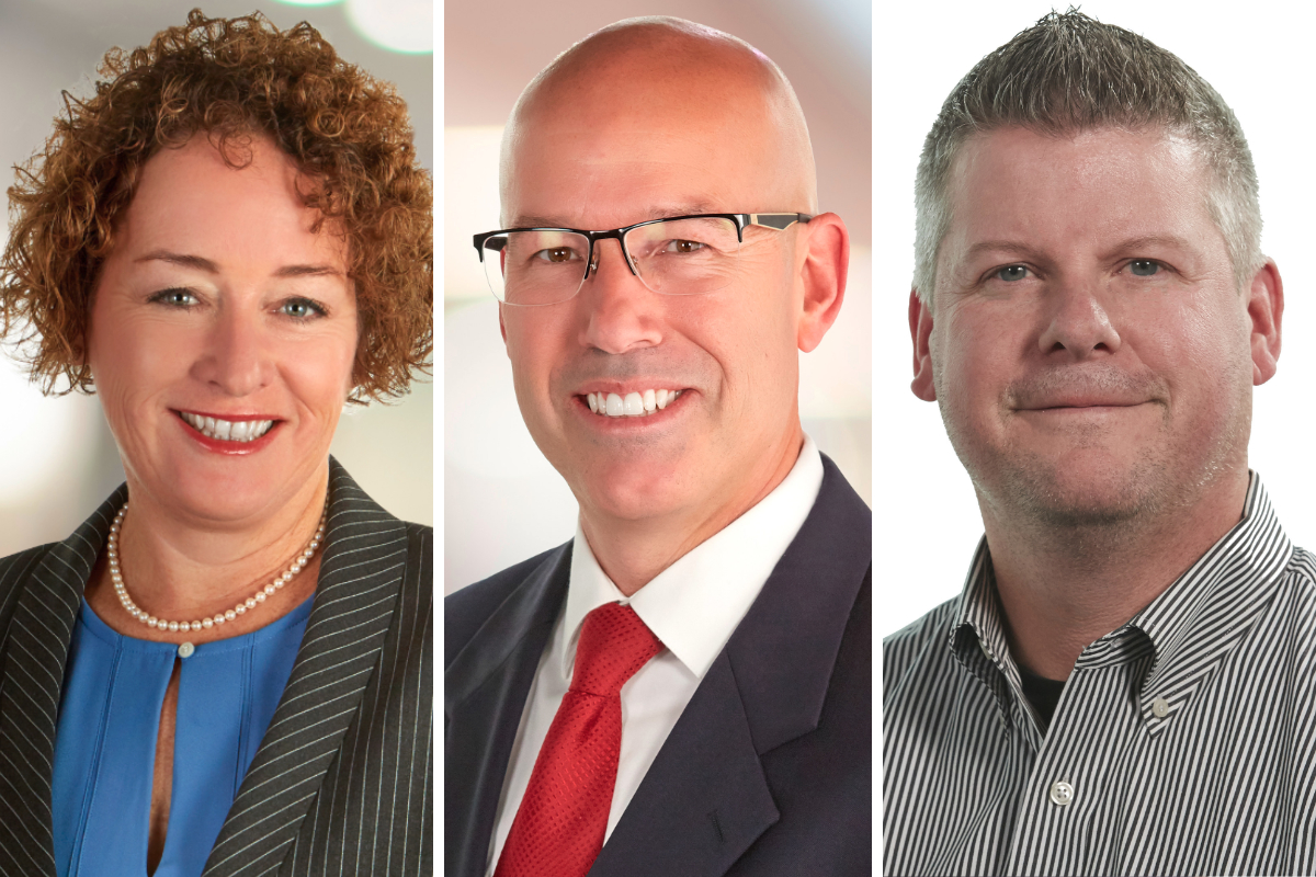 Deanna Brady, P.J. Connor and Tony Hoffman, Hormel Foods