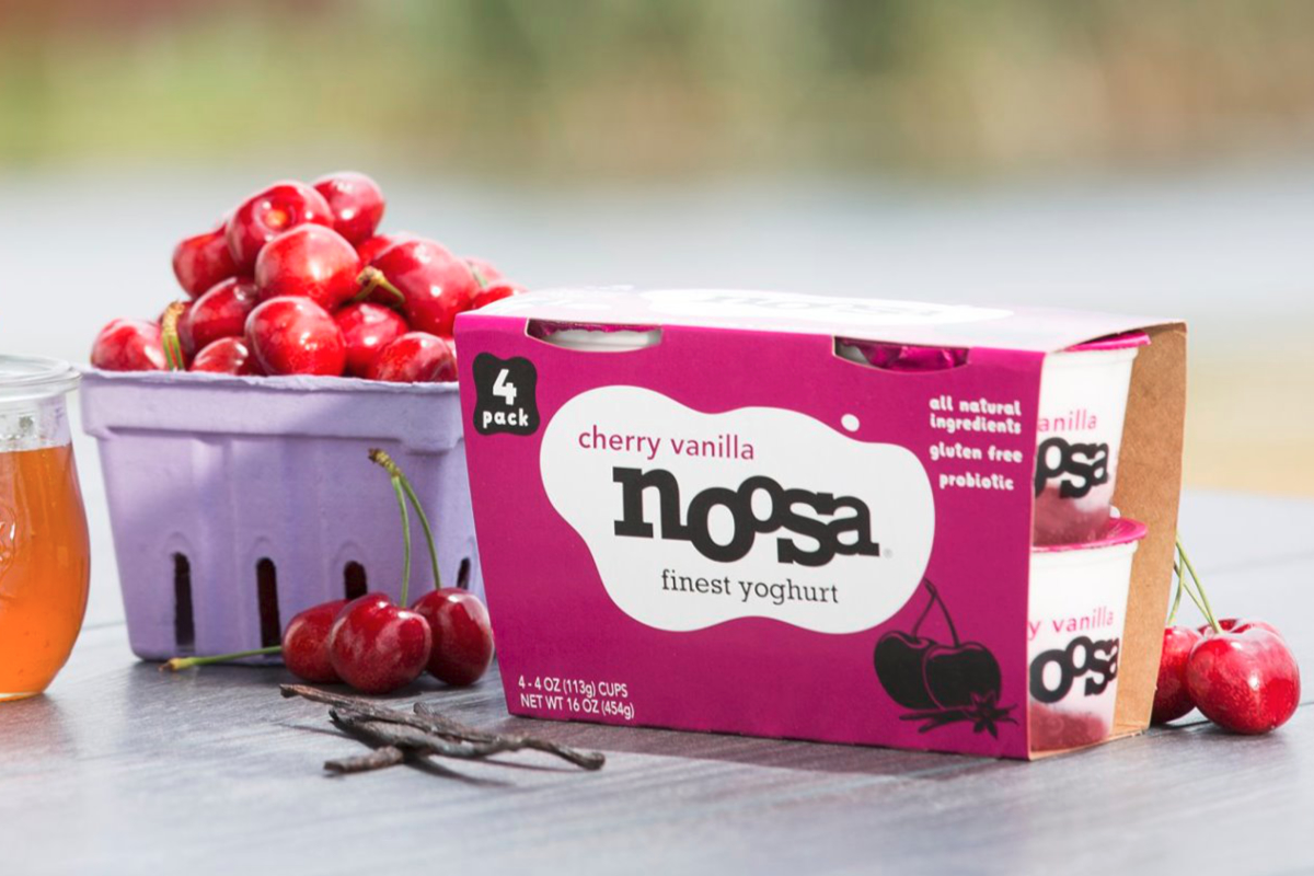 Noosa cherry vanilla yogurt