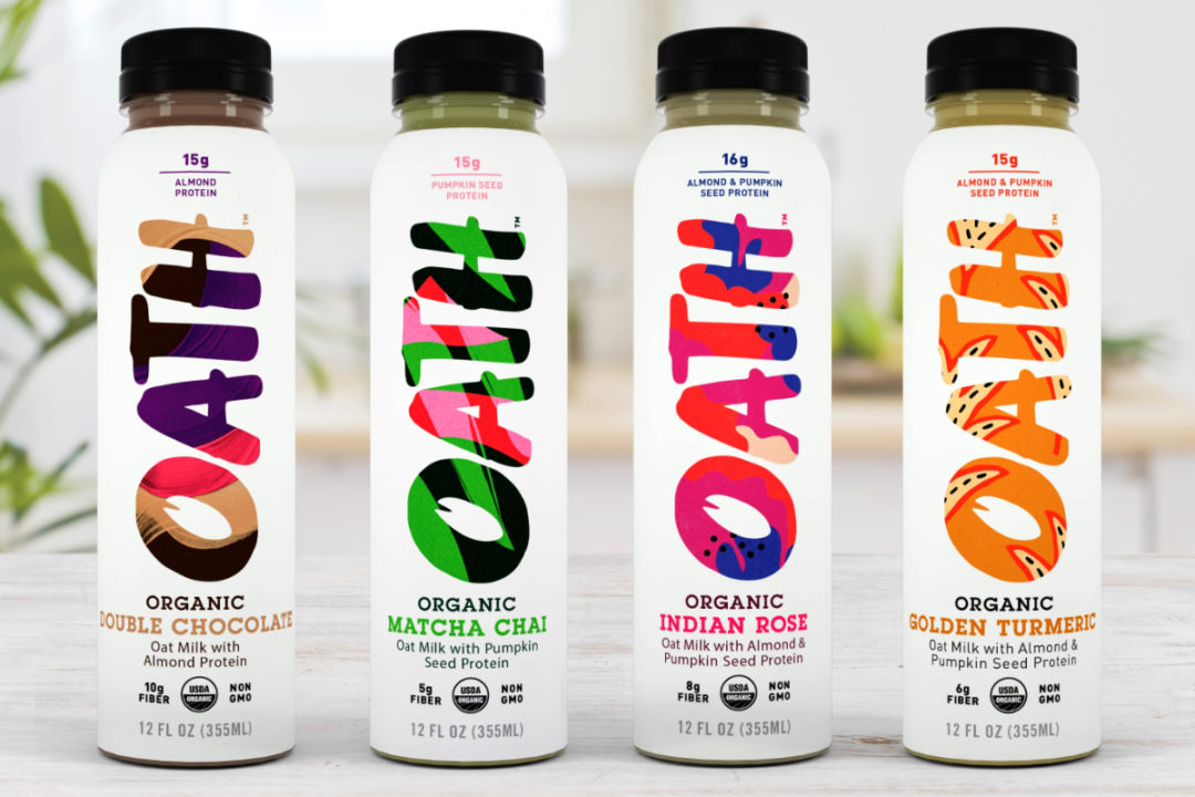 Oath Organic Oatmilk with Plant Protein
