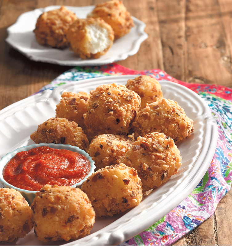 The Pioneer Woman Goat Cheese Bites with Marinara