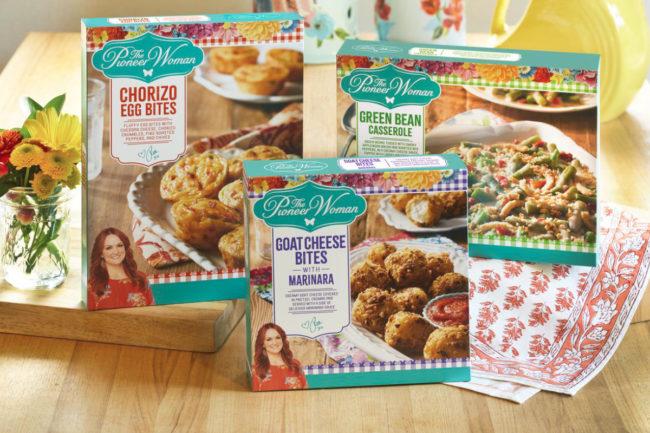 Kraft Heinz The Pioneer Woman frozen foods