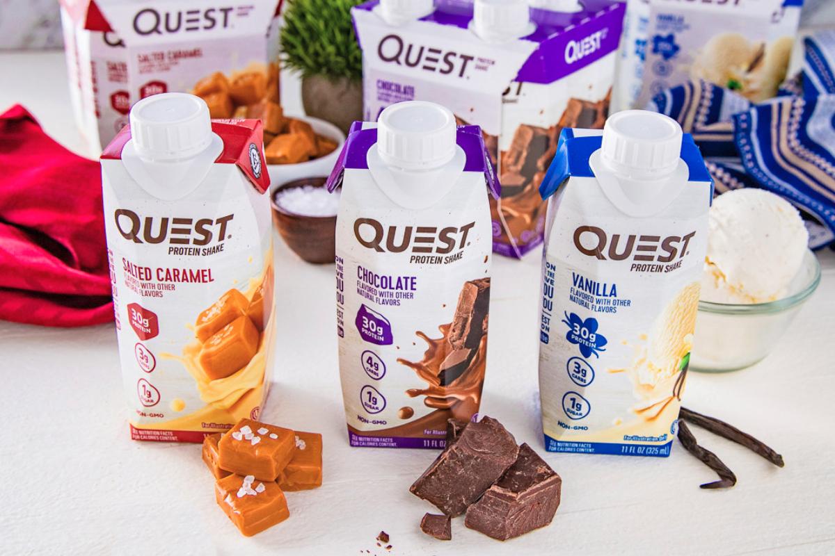 Secousses protéinées prêtes à boire de Quest Nutrition
