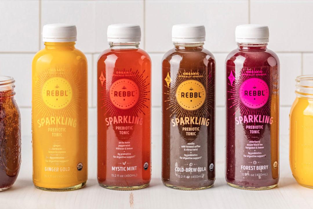REBBL Sparkling Prebiotic Tonics