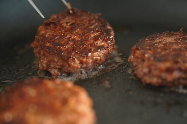 Redefine Meat burgers