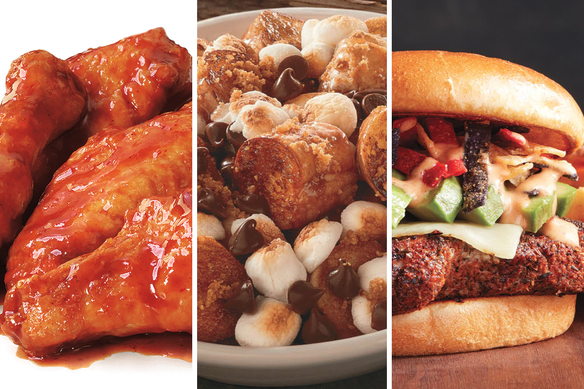 New menu items from Pizza Hut, Fazoli's, Quaker Steak & Lube