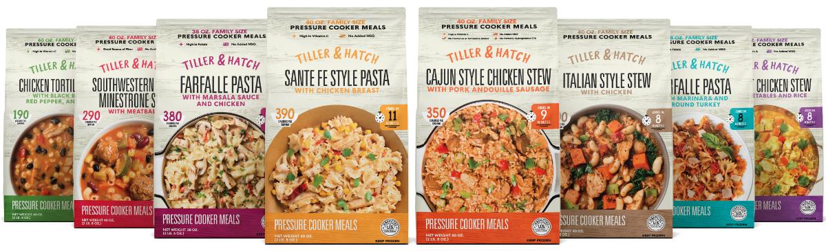 Tiller & Hatch meals