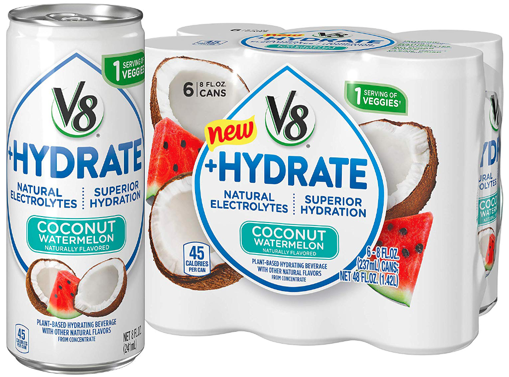 V8 +Hydrate coconut