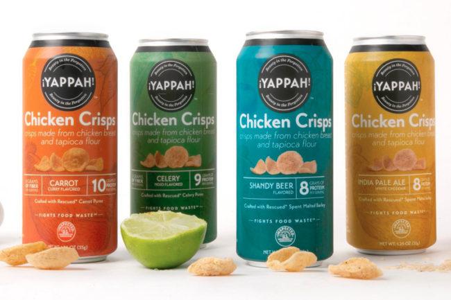 Yappah chicken crisps, Tyson Foods