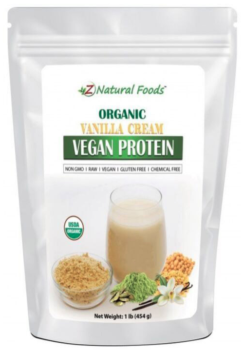 Z Natural Foods vegan drink mix