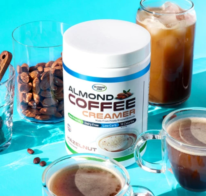 Almond Pro coffee creamer