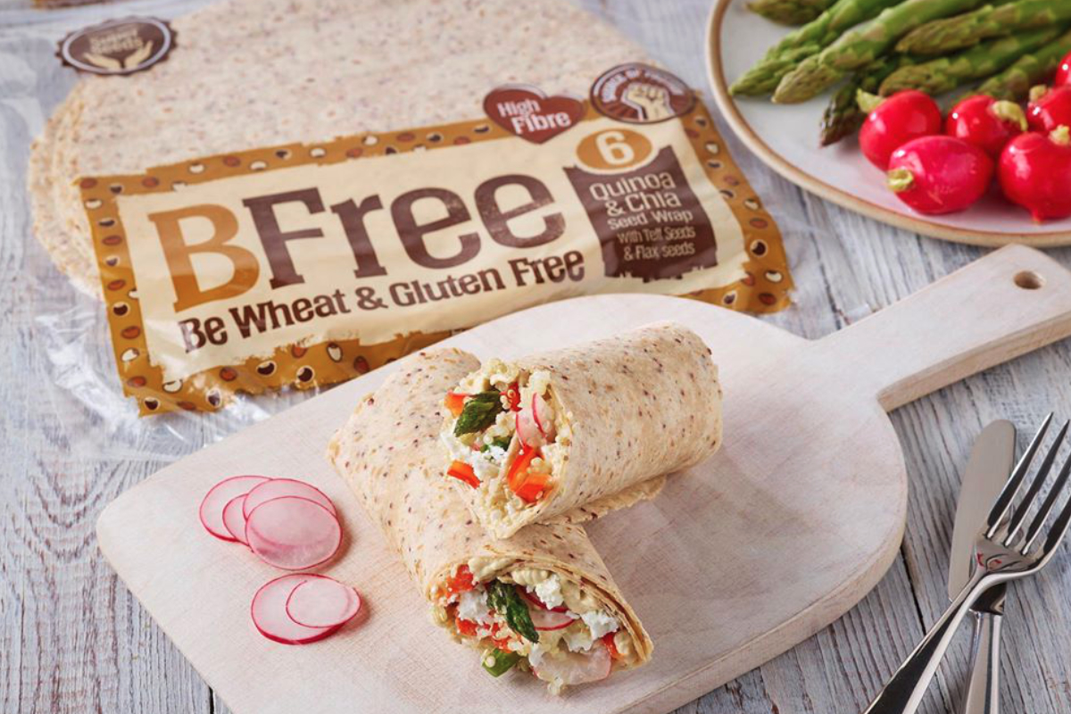 BFree Foods wraps