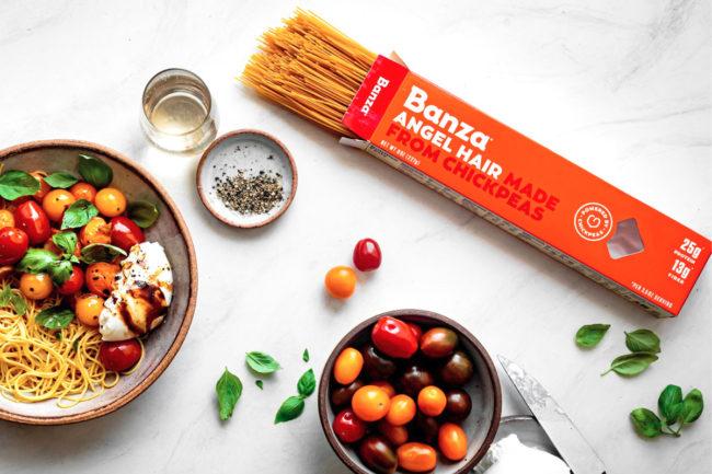 Banza angel hair chickpea pasta