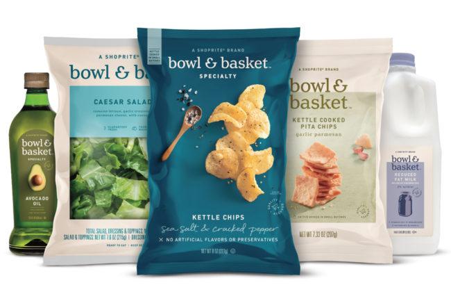ShopRite Bowl & Basket branded food and beverages