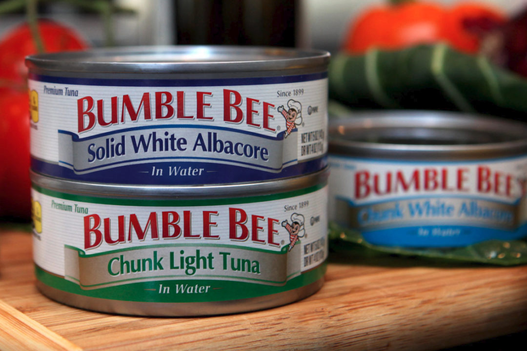 Bumble Bee Foods tuna cans