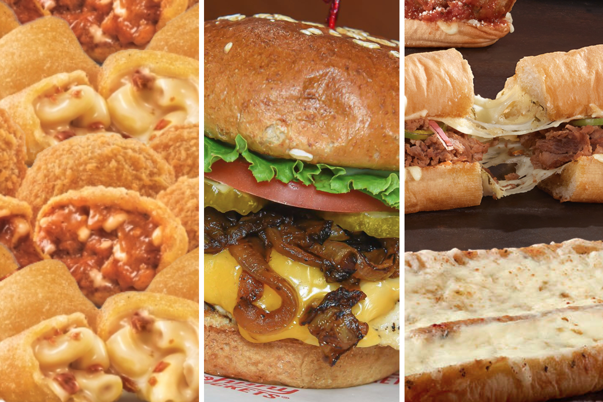 New cheesy menu items from Sonic, Johnny Rockets and Subway