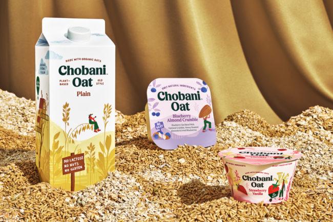 Chobani Oat products