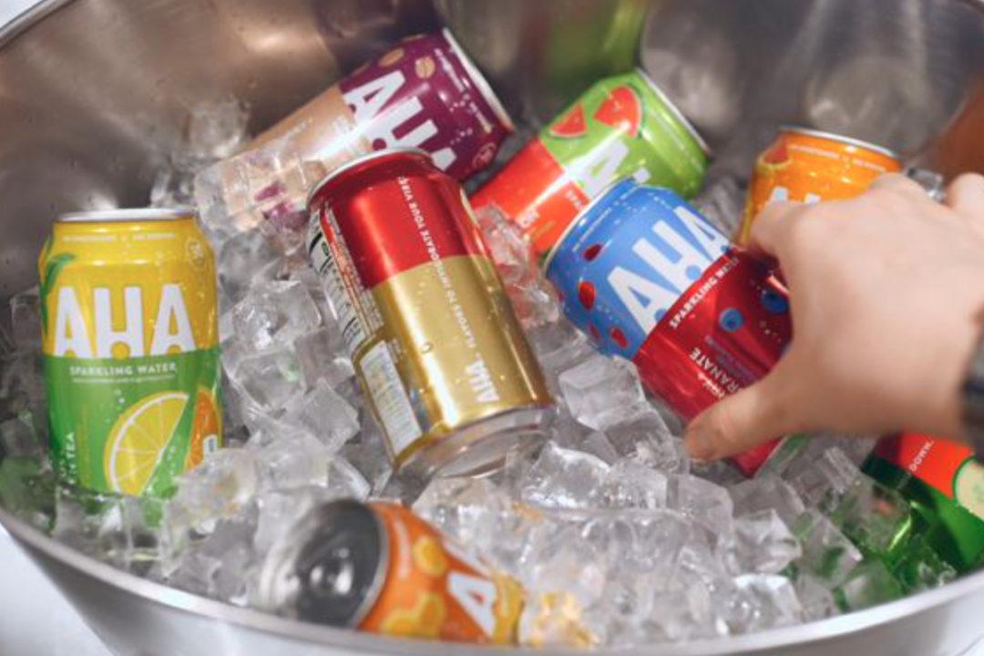 Coca-Cola AHA sparkling water